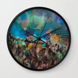Moody Skies 1 Wall Clock