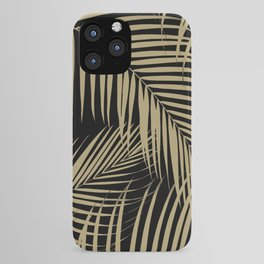 Palm Leaves - Gold Cali Vibes #9 #tropical #decor #art #society6 iPhone Case