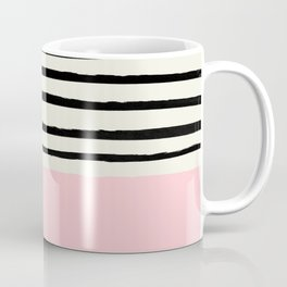 Millennial Pink x Stripes Coffee Mug