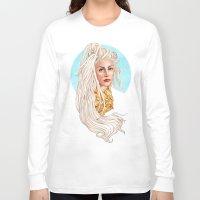versace Long Sleeve T-shirts featuring Versace Venus by Helen Green