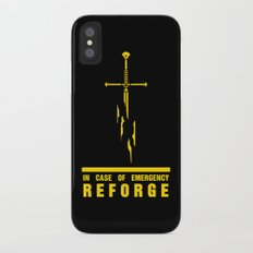 In case of emergency reforge iPhone X Slim Case
