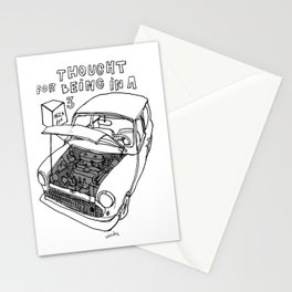 Mini Cooper Classic. Thought for being in a box 152 ft³. Stationery Cards