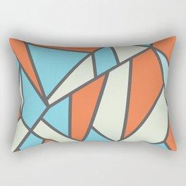 Geometric Colour Pattern V3 Rectangular Pillow