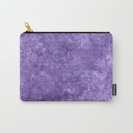 Paisley Purple Oil Painting Color Accent Carry-All Pouch
