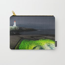 Puddle of Green Carry-All Pouch