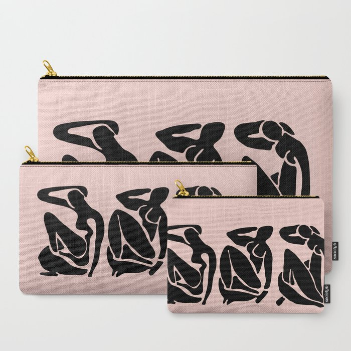 Blush_Black_Matisse_CarryAll_Pouch_by_hyggenok__Set_of_3