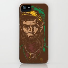 Abraham LINKoln iPhone Case