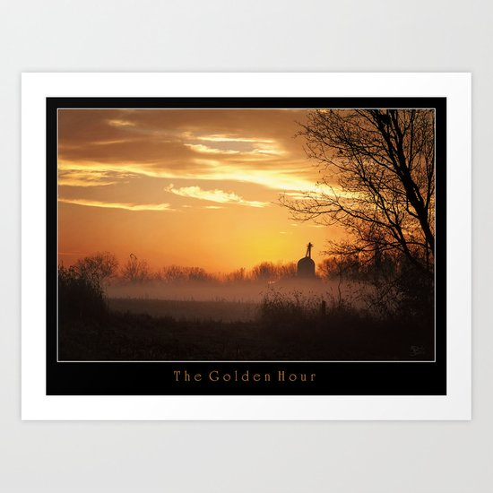 The Golden Hour Art Print