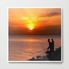 fisher Metal Print