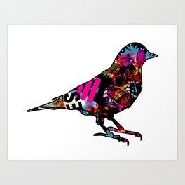 90s bird Art Print