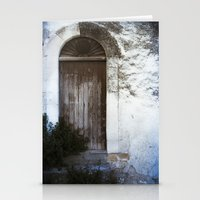 italian Stationery Cards featuring Italian Door by Maria Heyens