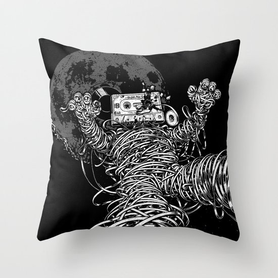 Killer Mix II Throw Pillow