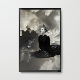 SMOKE AND MIRRORS Metal Print