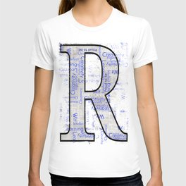"""Proud to be """"R"""" T-shirt"""