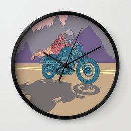 Adventures Wall Clock