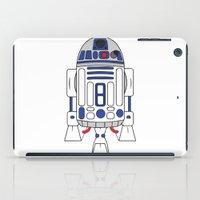 r2d2 iPad Cases featuring R2D2 by Gyunjoo Kim