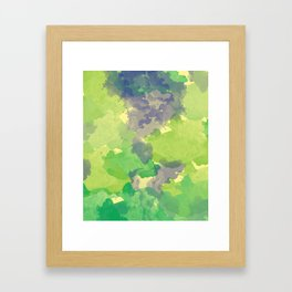 Abstract painting X 0.4 Framed Art Print