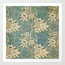 William Morris Tulip and Willow Pattern Art Print