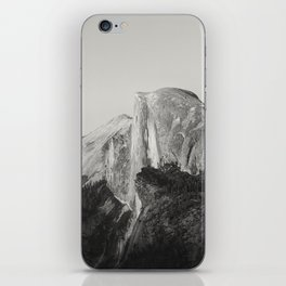 Half Dome V (black and white version) iPhone Skin