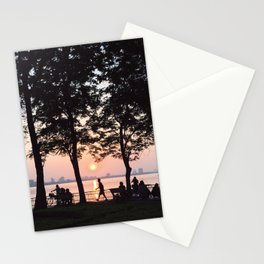 sunset - westlake Stationery Cards