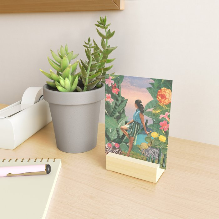 Botanical Cove Mini Art Print