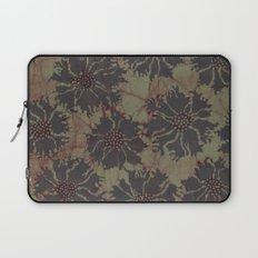 Batik Poppies Laptop Sleeve