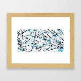 Bad Mind Slate Framed Art Print