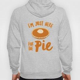 Thanksgiving Turkey Pumpkin Pie Pun Funny Apparel Gift Hoody