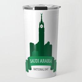 Saudi Arabia National Day Travel Mug