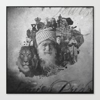 jewish Canvas Prints featuring Jewish Pride by Yossi Belkin
