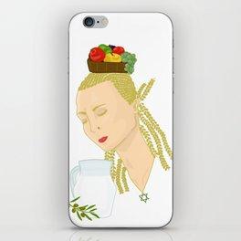 Shavuot iPhone Skin