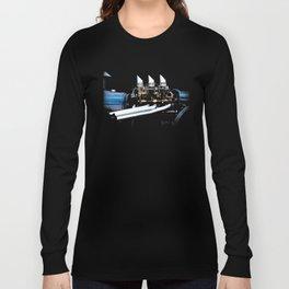 Rat Rod Motor Long Sleeve T-shirt