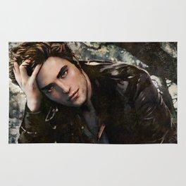 Robert Pattinson FAME comic book cover - Twilight Rug