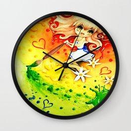 Paint My World Wall Clock