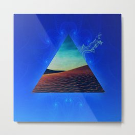 Magic Triangle Metal Print