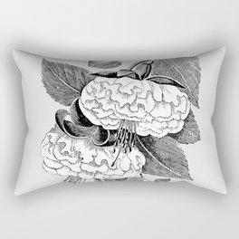 Vintage flower illustration 2 Rectangular Pillow