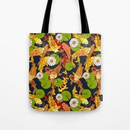 Bright Koi Tote Bag