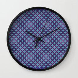 Woven Pattern 1.0 Wall Clock