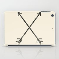arrows iPad Cases featuring Arrows by Zach Terrell