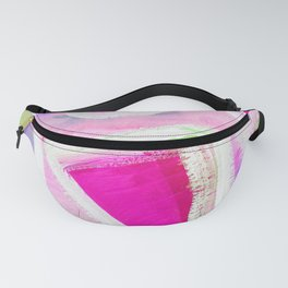 Abstract Pink Acrylic Study Fanny Pack