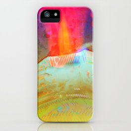 Volcanic Eruption II iPhone Case