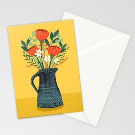 Flowers in Jug Stationery Cards