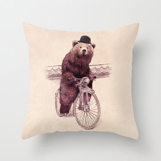 Barnabus (option) Throw Pillow