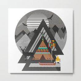 Northwest Passage Metal Print