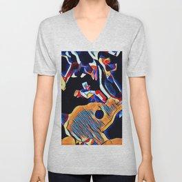 Hot Lava ~ Horse Skull Unisex V-Neck
