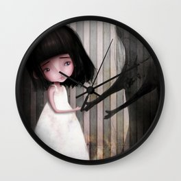 Making New Friends is Easy Wall Clock