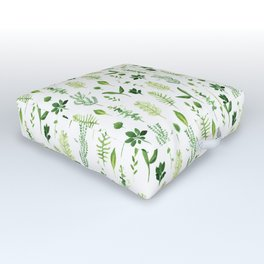 Leaves Outdoor Floor Cushion