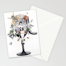 The Pitch | Collage Stationery Cards