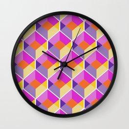 Geometric Love Wall Clock