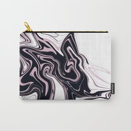 Very beautiful marble texture. Abstract bright hand painted background. Carry-All Pouch